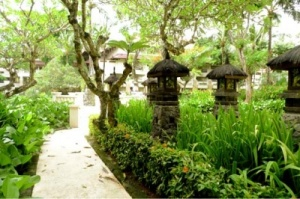 A haven of peace: One of the resorts looking to capitalize on growing demand in the Meetings, Incentives, Conference and Exhibition (MICE) sector in Bali is the InterContinental Bali Resort, Jimbaran, whose garden is pictured here.