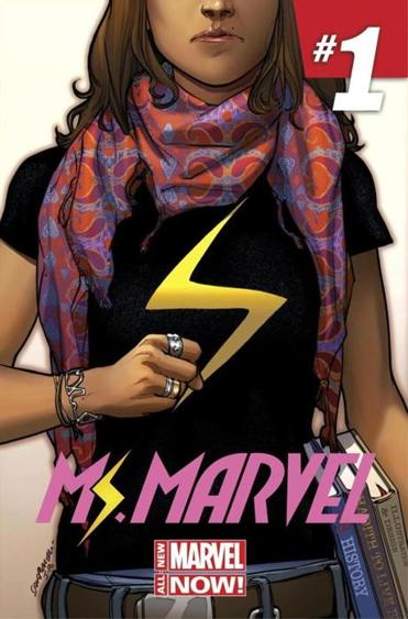 Take that, stereotypes!  The new Ms. Marvel is a Muslim teenager
