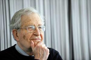 Noam Chomsky: (AFP)